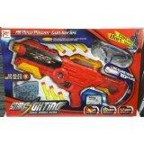 ขาย Worktoys ปืน ปืนสั้นอัดลมกระสุนโฟมยาง กระสุนน้ำ Eva Bullets Water Bullets 2 In 1 สีแดง