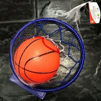 Worktoys ของเล่น บาสเกตบอล พร้อมแป้นบาสสีน้ำเงิน