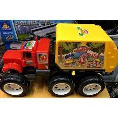 ซื้อ Worktoys รถของเล่น รถเด็กเล่น รถขนขยะ รถบรรทุกของ Worktoys