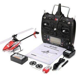 XK K120 Shuttle 6CH Brushless 3D6G System RC Helicopter RTF - intl