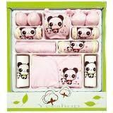 ขาย Yeeshop ชุดของขวัญสำหรับเด็กแรกเกิด Cotton100 ลายหมีแพนด้า สีชมพู P3 ใน ไทย