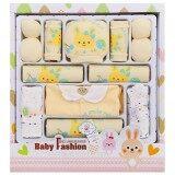 ทบทวน Yeeshop ชุดของขวัญสำหรับเด็กแรกเกิด Cotton100 A16ชิ้น สีเหลือง Y1