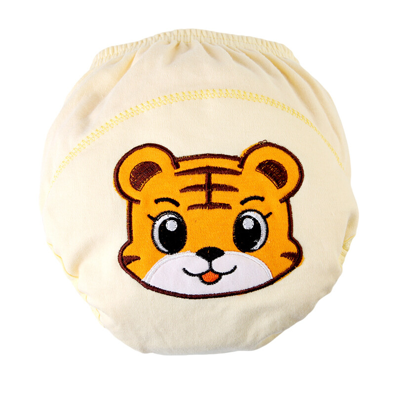 Yingwei Summer Tiger Baby Boy Girl Infant Kid Toilet Pee Potty Training Pants Cloth Diaper Underwear Convenience Multicolor