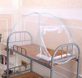 คลัสเตอร์เตียงสองชั้นของนักเรียนหอพักมุ้ง yurt