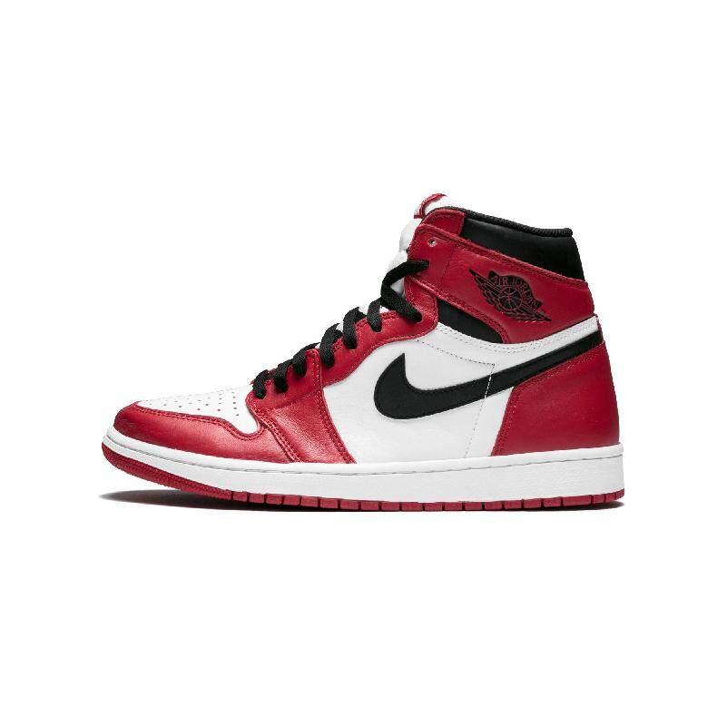 76f20a4ce84 nike Air Jordan 1 Retro High OG AJ1 Men s Basketball Shoes Sneakers Outdoor  Non-slip