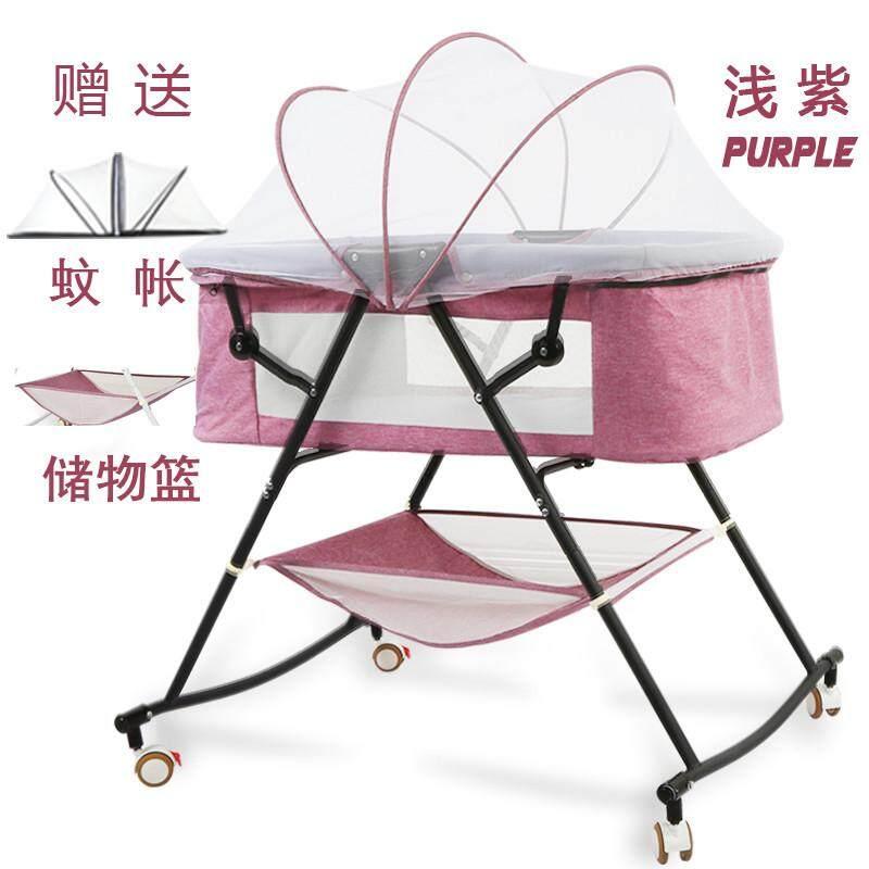 เตียงเด็กทารกเด็กแรกเกิดสามารถพับได้เตียงเปลง่ายและสะดวกแบบพกพามัลติฟังก์ชั่นขนาดเล็ก Bb Petpet กลับไปนอนเปลญวน By Taobao Collection.