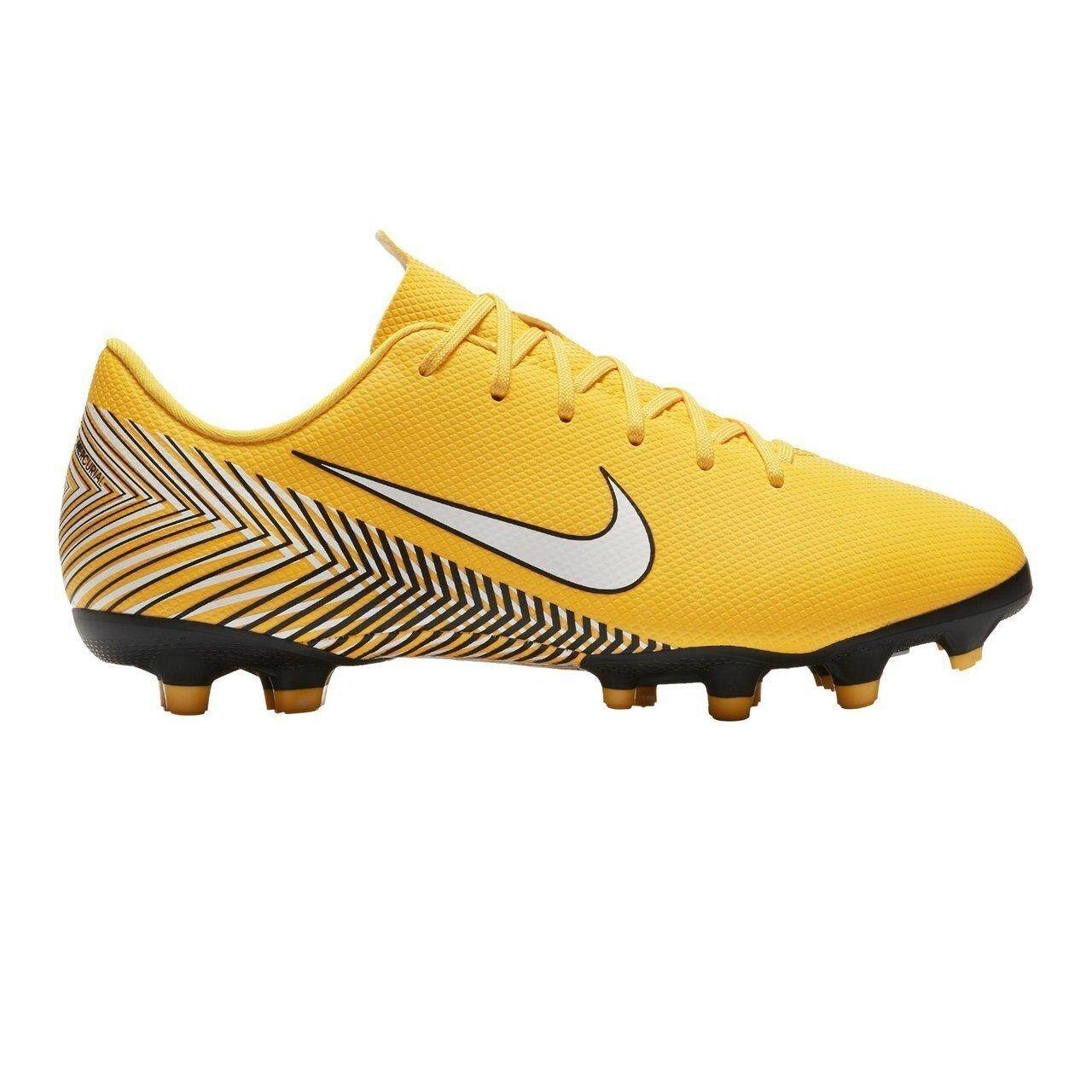 รองเท้าเด็ก ไนกี้ รุ่น V A P O R 12 Academy Gs Njr Fg/mg รุ่นรองบ๊วย (สีเหลือง) By Sportshoeonsale.