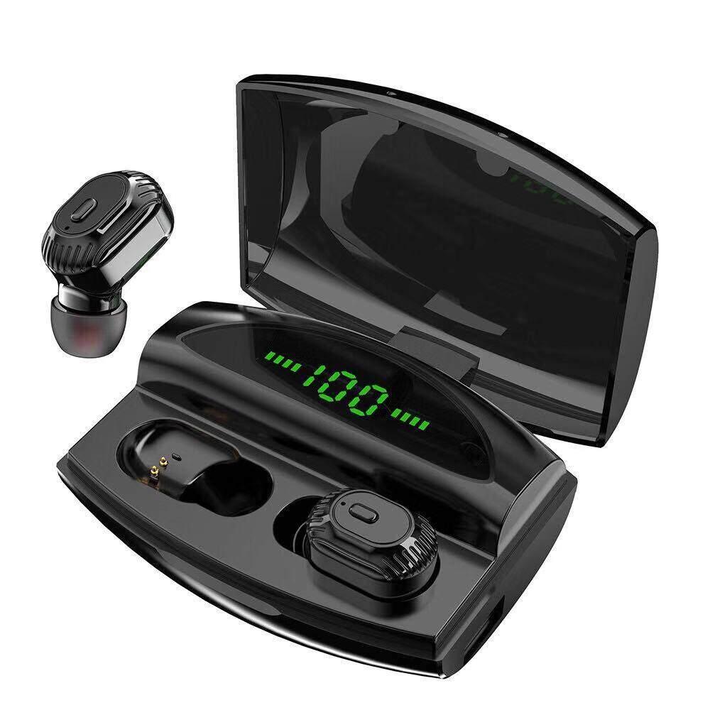 [พร้อมส่ง] ใหม่ 2019!! หูฟังบลูทูธไร้สาย Tws รุ่น Xg20 เป็น Powerbank 1800mah ในตัว หูฟังบลูทูธ หูฟังเล่นเกมมือถือ หูฟังออกกำลังกาย เบสดี กันน้ำ Ipx5 หูฟังอินเอียร์ หูฟังสเตอริโอ หูฟัง Earphone Earbuds True Wireless Bluetooth 5.0.