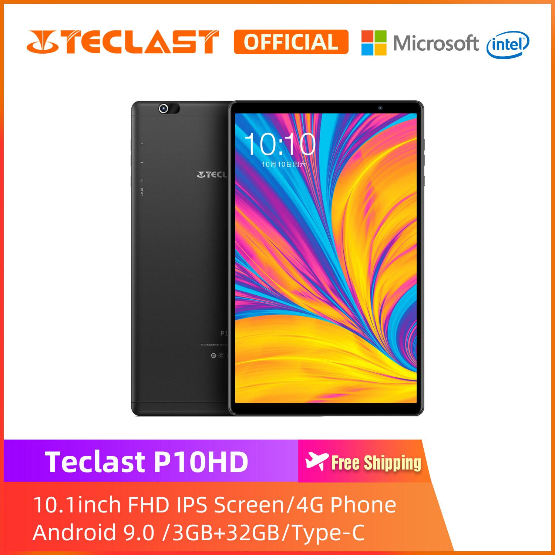 [Teclast Official] แท็บเบล็ต P10HD / หน้าจอ FHD 10.1 นิ้ว / 3GB RAM 32GB ROM / เมนูภาษาไทย / ช่องเสียบการ์ด Micro SIM / ภาพยนตร์ Intalled / Android 9 / Type-C / รับประกัน 1 ปี