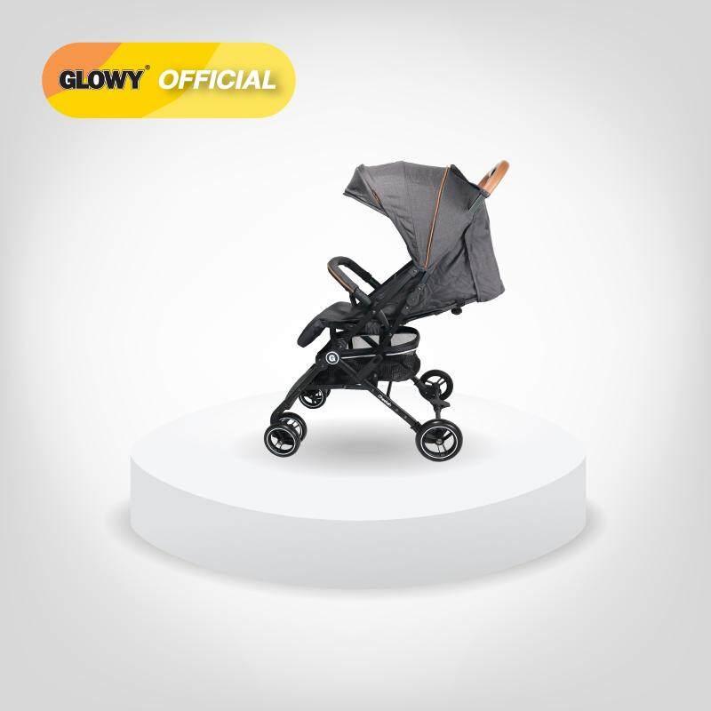 รถเข็นเด็ก พับเล็ก GLOWY Cheetah Stroller ใช้ได้แรกเกิด-15 กก.