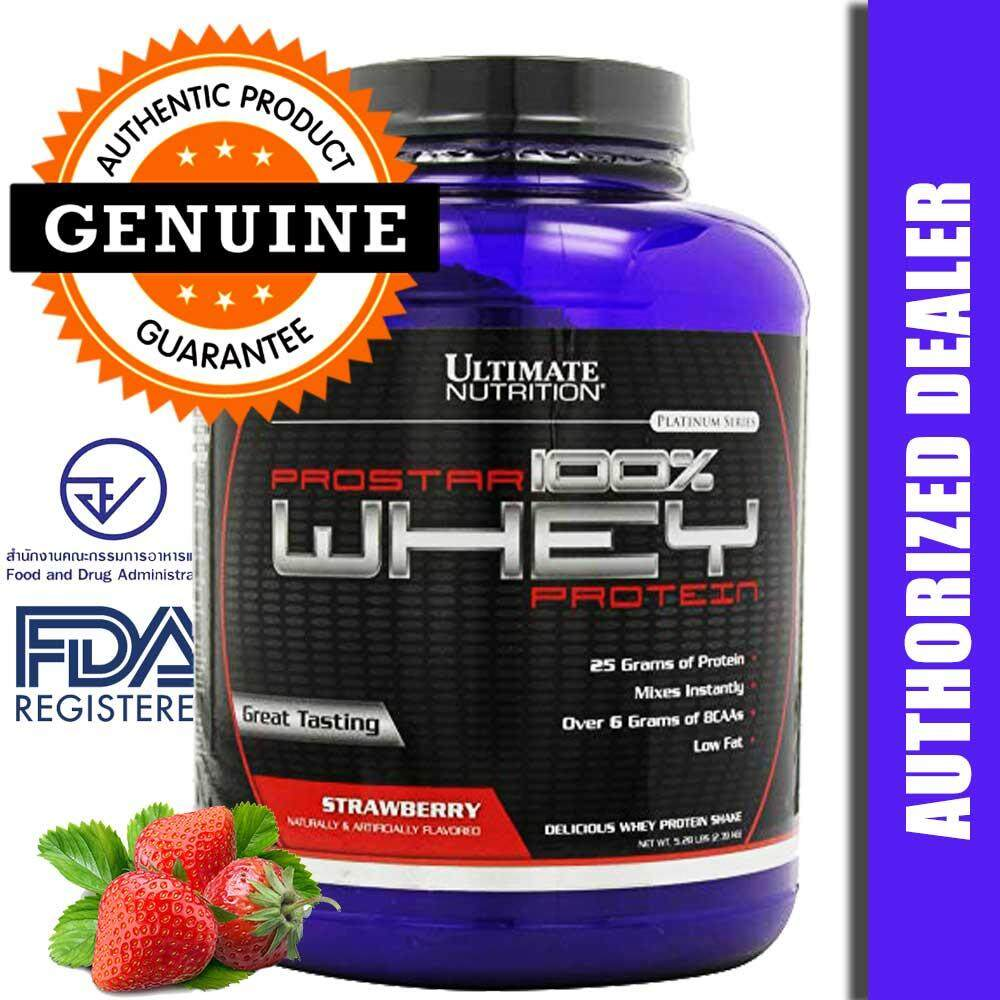Ultimate Nutrition เวย์โปรตีน ProStar Whey Protein 5.28lbs - Strawberry