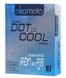 ขาย ซื้อ ออนไลน์ Okamoto Dot De Cool ถุงยางอนามัย 6 กล่อง