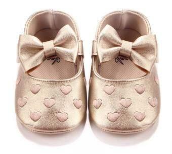 CB รองเท้าเด็กผู้หญิง สไตล์เจ้าหญิง ฟรุ้งฟริ้ง น่ารักลายหัวใจ  รุ่น 07
