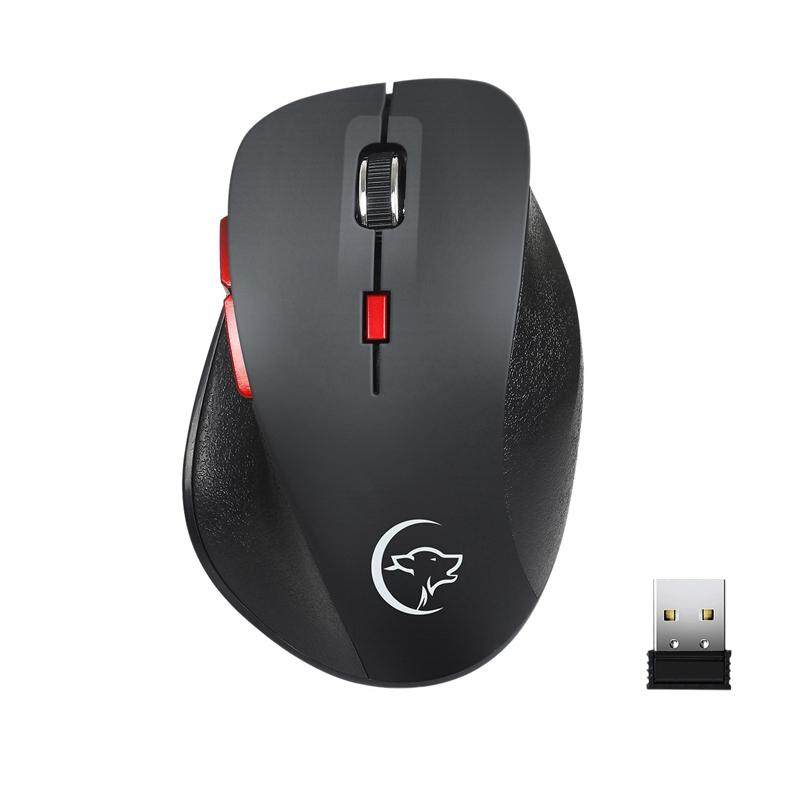 Giá 2.4Ghz Wireless Mouse Ergonomic Mice 6 Buttons 2400Dpi 4 Adjustment Levels for Computer Laptop Desktop