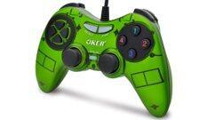 OKER PC Dual Shock Joypad U-900 - Green