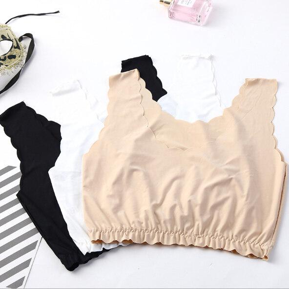 Toplist (tl-N237) เสื้อซับในสายเดี่ยว ไม่มีฟองน้ำ สวมใส่สบาย.