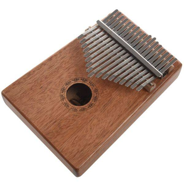 17 Keys Kalimba Thumb Piano High-Quality Wood Mahogany Body Musical Instrument with Learning Book Tune Hammer Malaysia