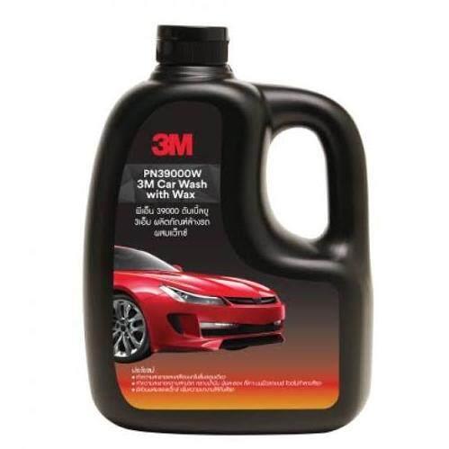 3เอ็ม แชมพูล้างรถ สูตรผสมแวกซ์ ทั้งล้างและเคลือบเงาในขั้นตอนเดียว 3m™ Car Wash With Wax 1000ml..