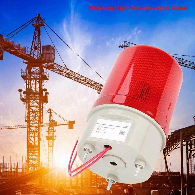 Industrial Flashing Sound Alarm Light,BEM-1101J 220V Red LED Warning Lights Acousto-Optic Alarm System Rotating Light Emergency LED Strobe