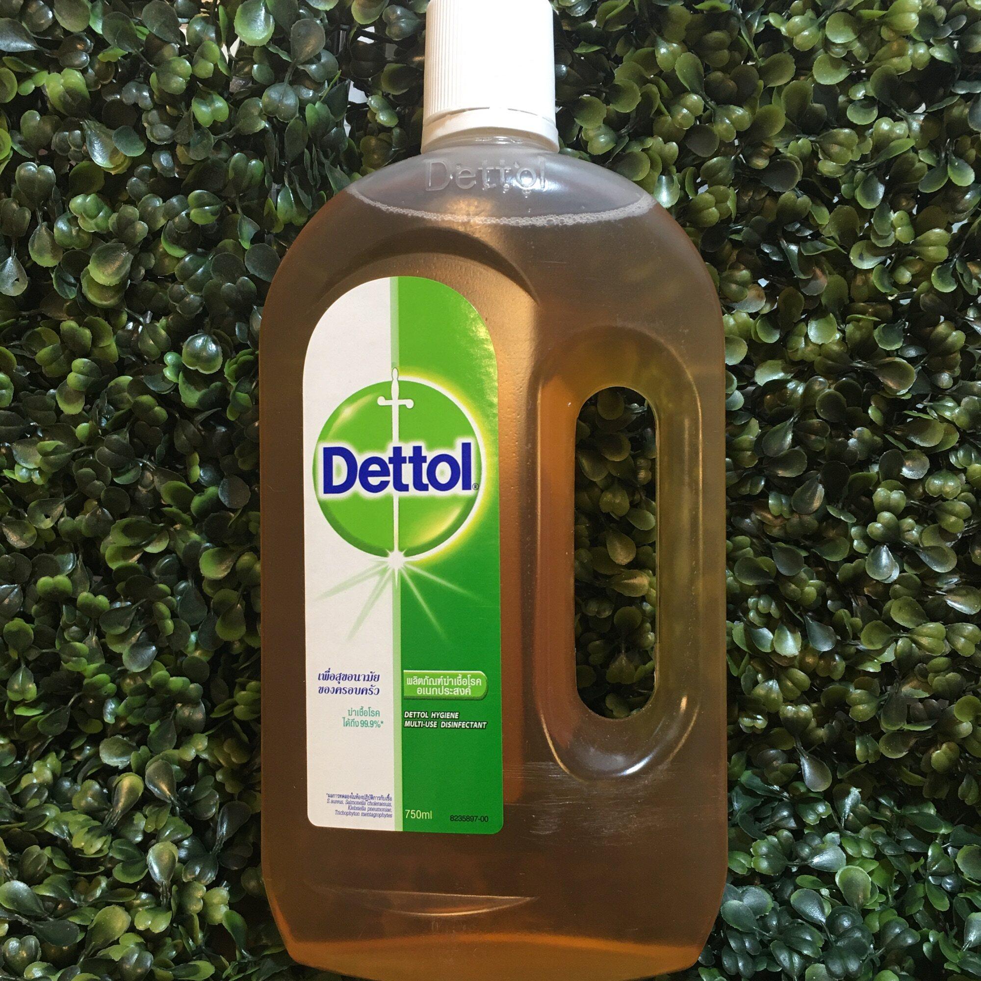 ผลิตภัณฑ์ฆ่าเชื้ออเนกประสงค์ Dettol ฆ่าเชื้อโรคได้ถึง 99.9% ขนาด 750 ml