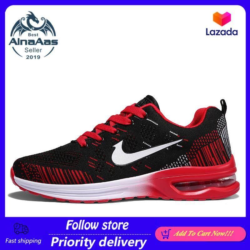 AinaAas ผู้ชาย Air Cushion รองเท้าผ้าใบ Breathable