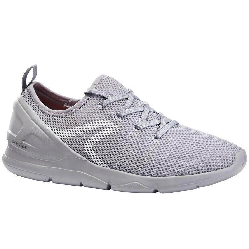 รองเท้าใส่เดินเพื่อสุขภาพสำหรับผู้หญิงรุ่น Pw 100 (สีเทา) By Healthy Store By Suay.