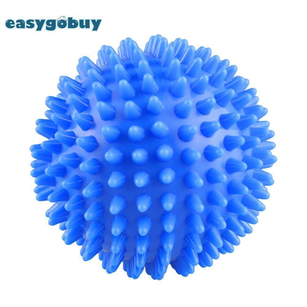 4 Pcs เป็นมิตรกับสิ่งแวดล้อมเครื่องเป่าแบบนำกลับมาใช้ได้ Ball น้ำยาปรับผ้านุ่มริ้วรอยปล่อยลูกบอลซักผ้า By Easygoingbuy.