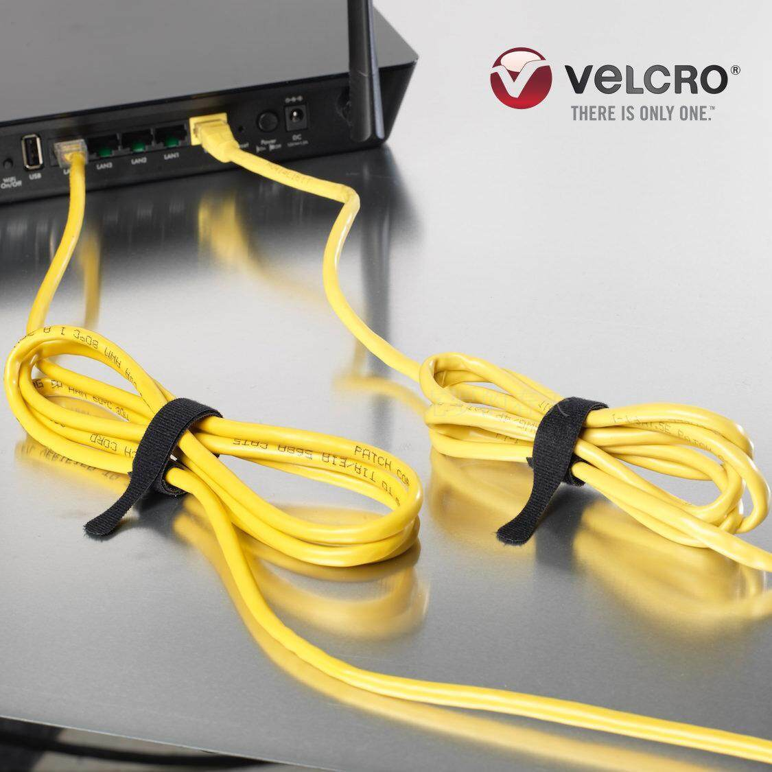 Import Ultra-Thin Velcro Cable Tie Velcro Brand VELCRO Brand Line Belt Bingding Line Natural 20X1.2 Cm