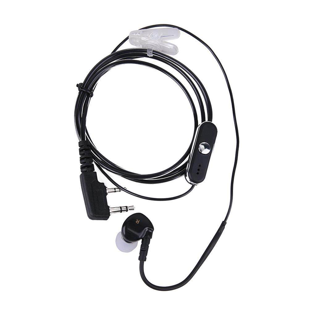 2 Pin Sports Earpiece Headset Earphone with PTT MIC for Baofeng UV-5R Retevis