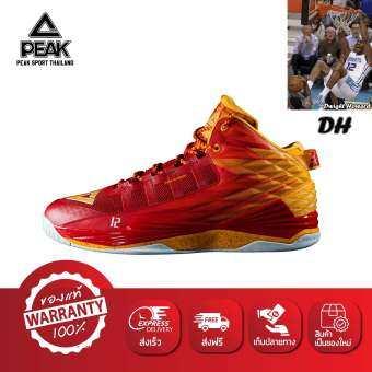 PEAK รองเท้า บาสเกตบอล เอ็นบีเอ NBA Basketball shoes พีค รุ่น E62003A - Red/Orange-