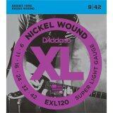 ขาย D Addario สายกีตาร์ไฟฟ้า รุ่น Exl120 Nickel Wound Electric Guitar Strings Super Light 09 42 เป็นต้นฉบับ