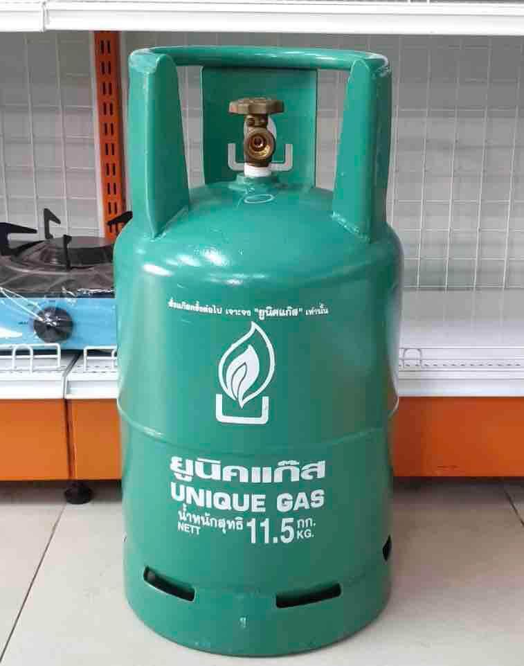 ถังยูนิค ขนาดบรรจุแก๊ส 11.5 กก. ถังเปล่า ไม่รวมแก๊ส สามารถนำไปเติมเองได้