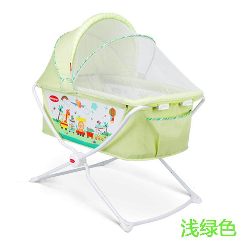 มุ้งเตียงเด็กทารกสามารถพับได้ทารกแรกเกิดเตียงเปล By Taobao Collection.