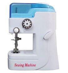 ส่วนลด Itandhome จักรเย็บผ้าพกพา ขนาดเล็ก Sewing Machine สีขาว น้ำเงิน