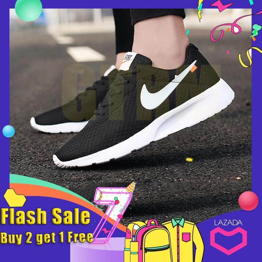 2019 Gtrm ผู้ชายสีขาวกลางแจ้งแฟชั่นรองเท้าผ้าใบขนาดใหญ่ 36-44 ชายรองเท้าวิ่งระบายอากาศสบาย ๆ.