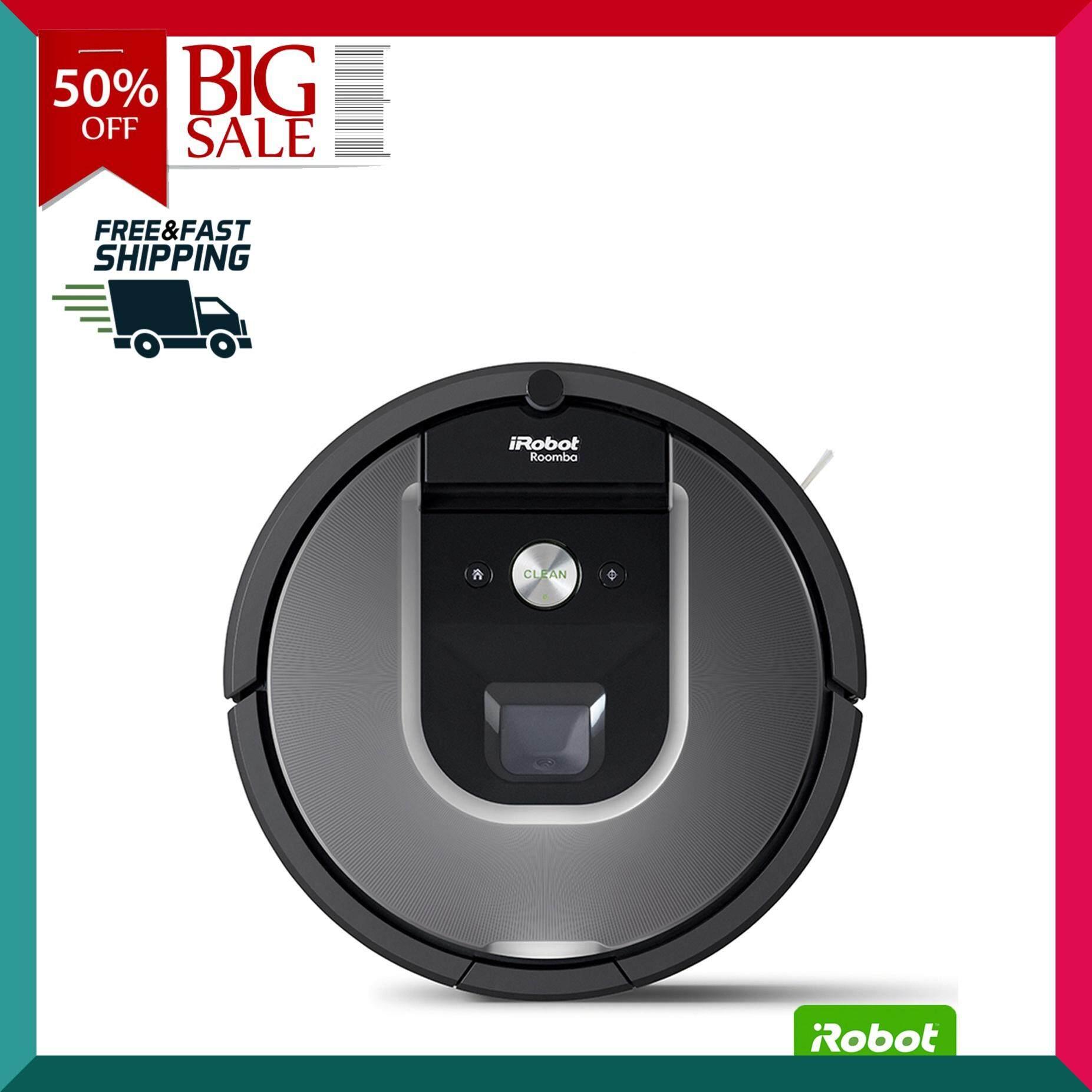 IROBOT หุ่นยนต์ทำความสะอาด รุ่น Roomba 960 เครื่องดูดฝุ่นอัตโนมัติ หุ่นยนต์ดูดฝุ่น เครื่องดูดฝุ่น เครื่องทำความสะอาด Vacuum Cleaner สินค้าคุณภาพ Premium !!! จัดส่งฟรี