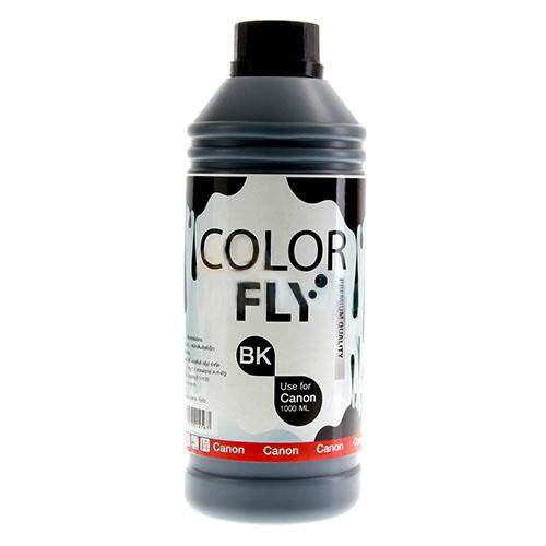 Color Fly Ink 1000 Ml. Black C For Printer Canon.
