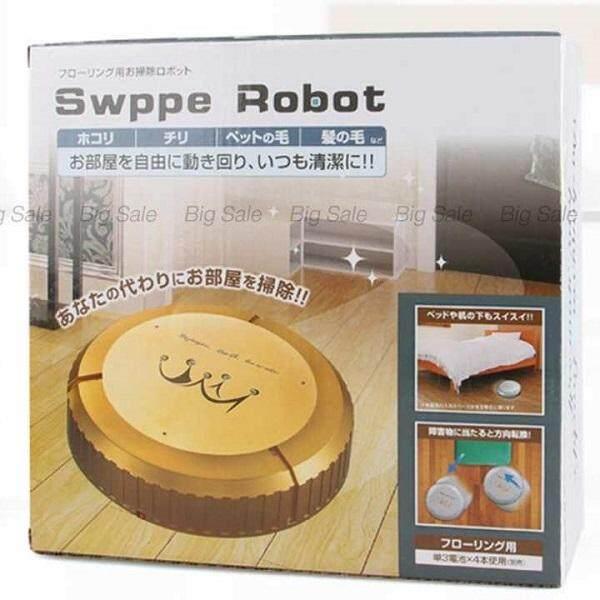 Smile Love Shop หุ่นยนต์ดูดฝุ่น เครื่องดูดฝุ่นอัตโนมัติ ทำความสะอาด