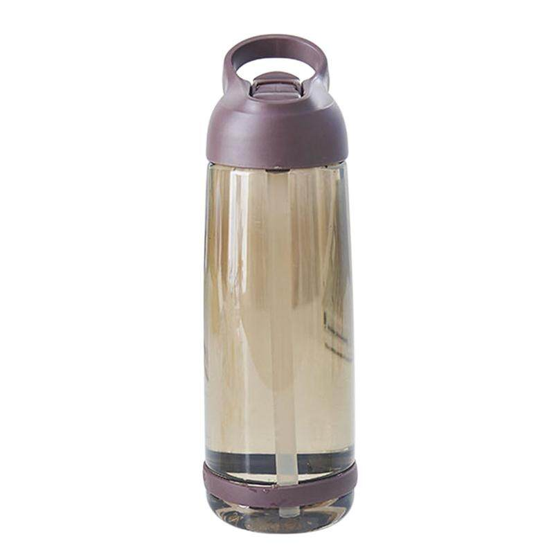 Fashion Portable Straw Cup Large Capacity Cup Outdoor Sports Water Bottle 1000Ml