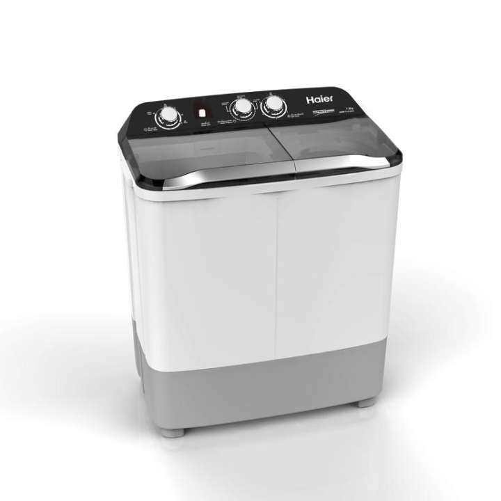 Haier เครื่องซักผ้า 2ถัง กึ่งอัตโนมัติ รุ่น HWM-T75 OXS