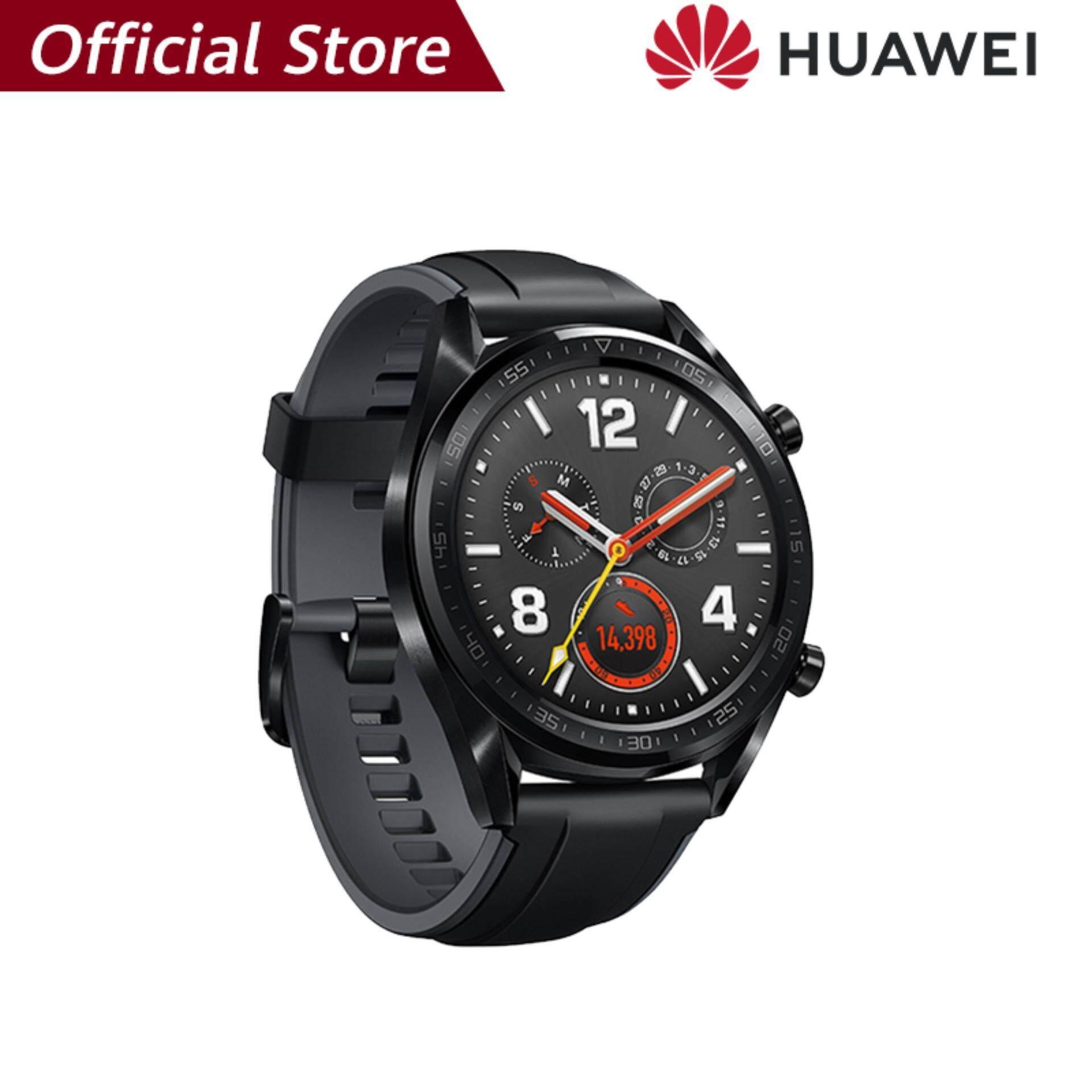 【ผ่อน 0% 10 เดือน】Huawei Watch GT แบตเตอรี่ที่แข็งแกร่ง*รับประกัน 1ปี