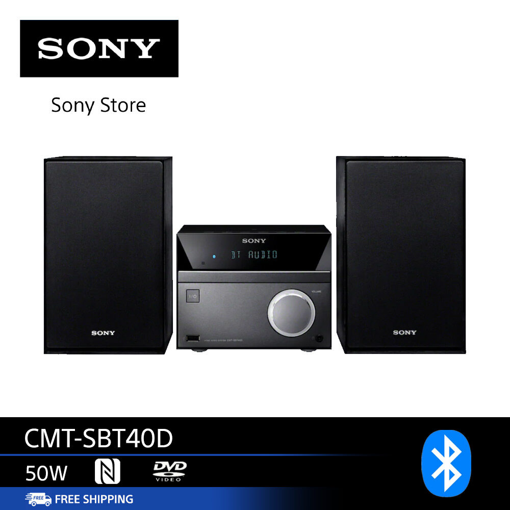 Sony Cmt-Sbt40d Hi Fi System Wireless.