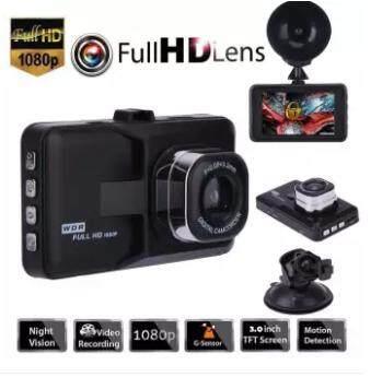 Full HD 1080P Car DVR 3.0 Inch IPS Screen Dual Lens Dash Cam Video Recorder Night Vision G-sensor Registrar