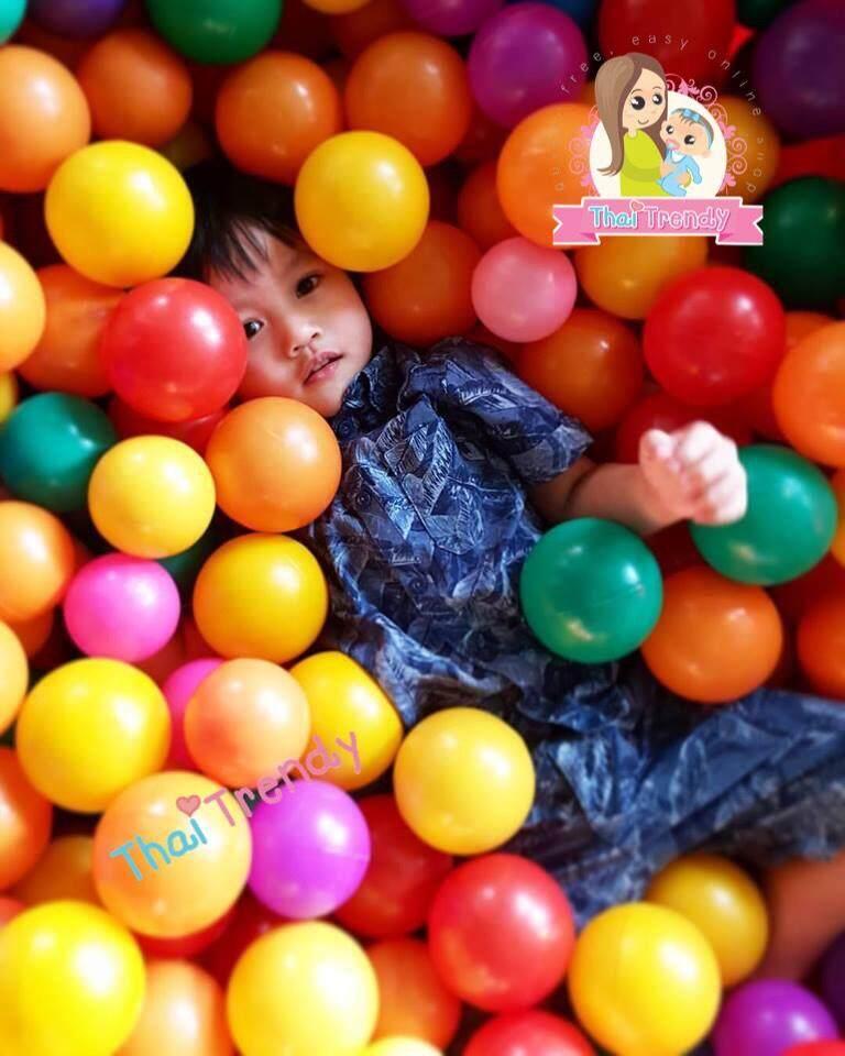Mbp ลูกบอลหลากสี 100 ลูก By Mbp Shopping.