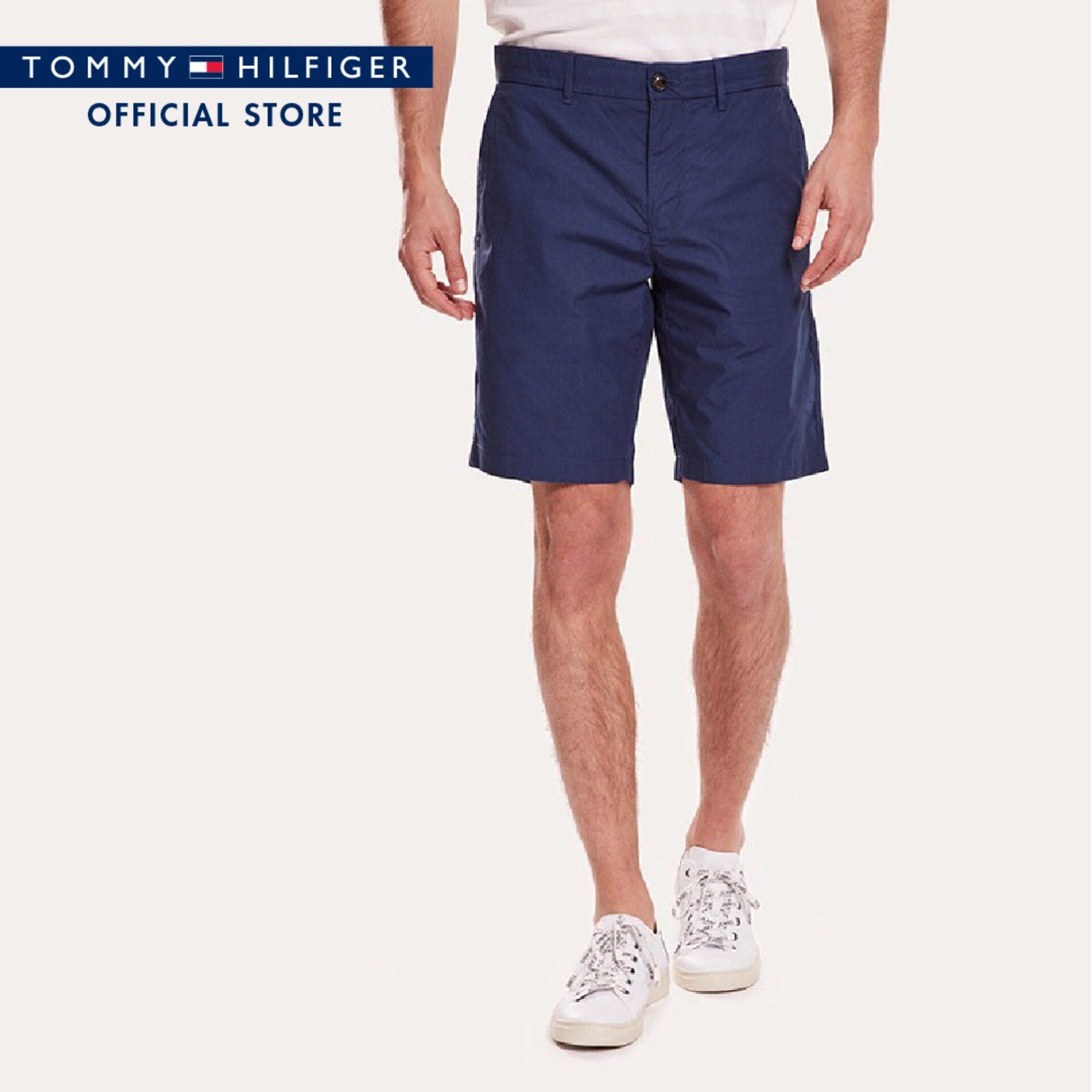 Tommy Hilfiger กางเกงขาสั้นชาย รุ่น MW0MW09641 สีน้ำเงิน