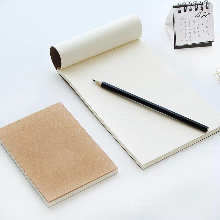 Kiki Study (2เล่ม)สมุดเสก็ต สมุดร่าง เครื่องเขียน สมุดวาดรูป สมุดเรียน 60แผ่น 18k/32k/64k Sketch Notebook Draft Notebook.