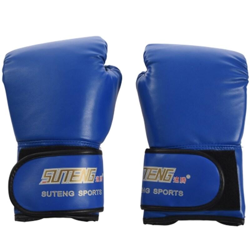 SUTENG PU leather sport training equipment Boxing Gloves