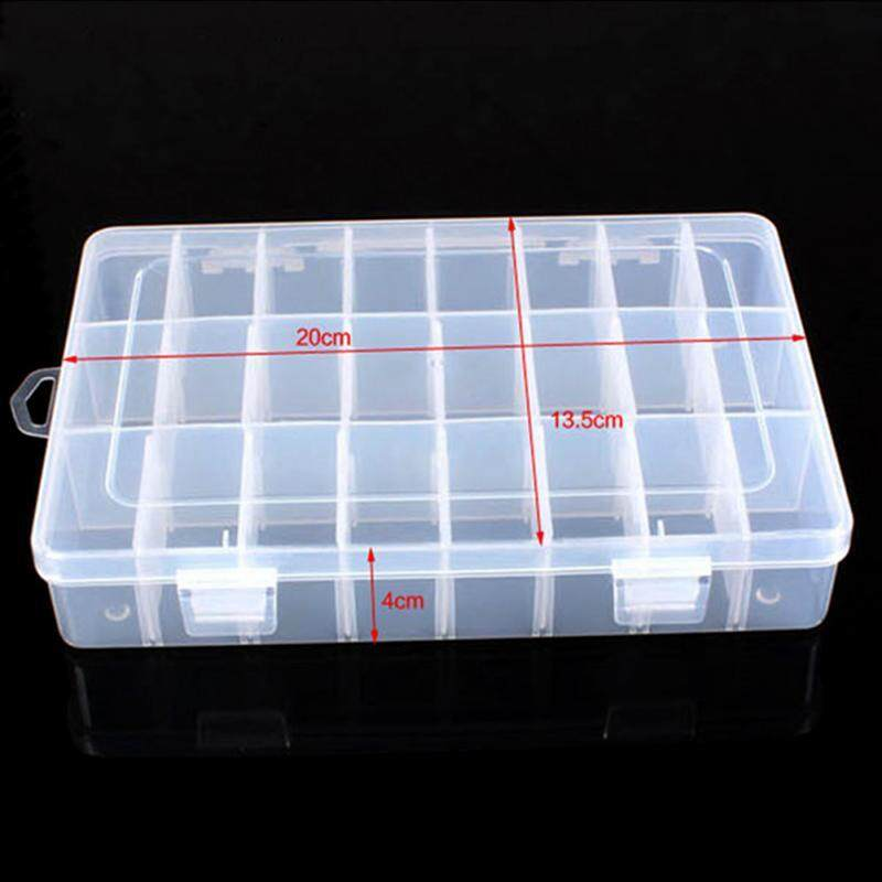 Small Container Beads 5Pcs Organiser Case Clear Plastic Storage Box
