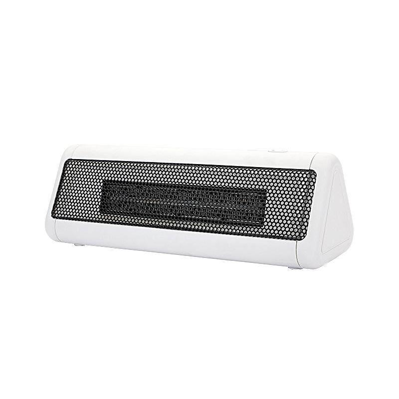 Voucher Ưu Đãi Electric Heaters Fan Countertop Mini Home Room Handy Fast Power Saving Warmer For Winter PTC Ceramic Heating White US Plug