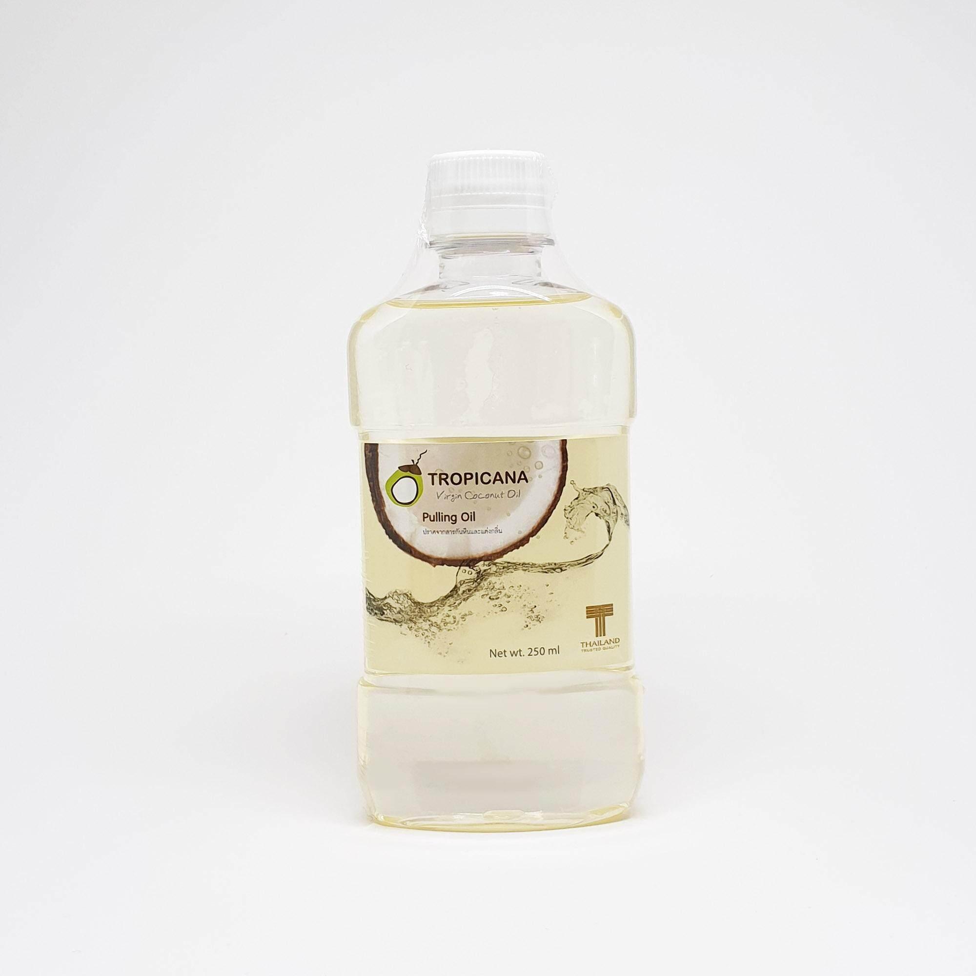 ทรอปิคานา น้ำมันมะพร้าวสกัดเย็นสำหรับบ้วนปาก 250 มิลลิลิตร